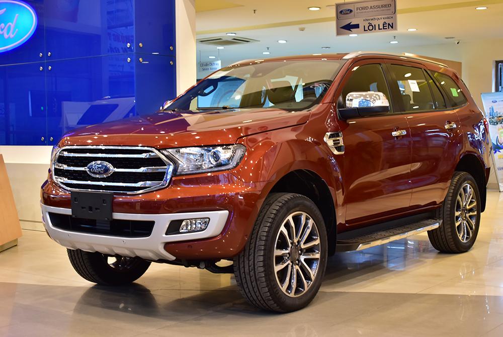 Ford Everest 2.0L Bi-Turbo AT 4×4
